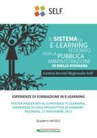 Esperienze di formazione in e-learning