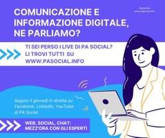 PA Social: 50 video su web, social, chat, intelligenza artificiale e altre iniziative