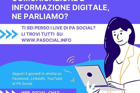 PA Social: 50 video su web, social, chat, intelligenza artificiale e altre iniziative