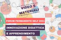 Registrazione e materiali del Forum permanente SELF 2021