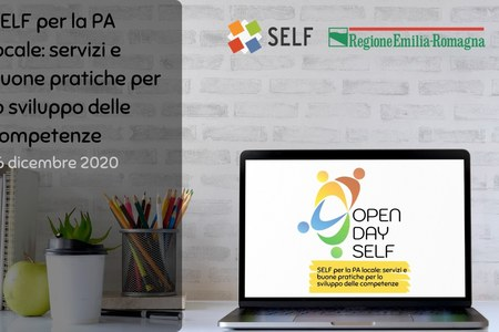 Registrazione e materiali dell'OPEN DAY SELF del 16 dicembre 2020